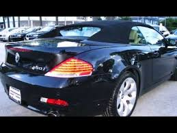 bmw 6 series convertible review 2007 bmw 6 series 650i convertible in orlando fl 32837