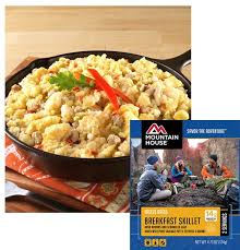mountain house freeze dried breakfast skillet pouch 53482