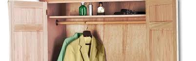 Wood Armoire Wardrobe Wood Armoires U0026 Wardrobes At Natural Furniture Portland Or