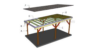 Car Port Plans How To Make A Carport Howtospecialist How To Build Step By