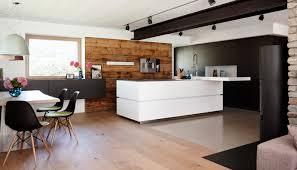 contemporary kitchen stainless steel laminate island villa