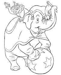 elephant images kids coloring