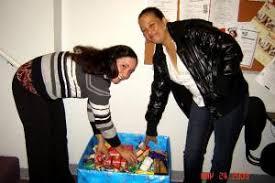 brockton site participates in thanksgiving food drive