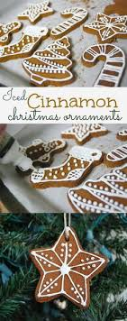 easy 3 ingredient cinnamon ornaments cinnamon ornaments