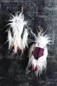 cozy yeti ornament anthropologie some serious