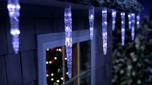 philips led dome christmas lights icicle lights youtube