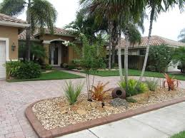 Tropical Landscaping Ideas by Tropical Front Yard Landscaping Ideas Front Garden Design