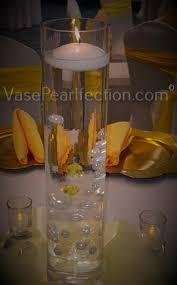 Cylinder Floating Candle Vase Set Of 3 3
