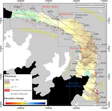 Ice Age Interactive Map My Blog by George Vi Ice Shelf Antarcticglaciers Org