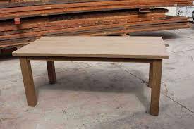 dining tables restoration hardware trestle table craigslist how