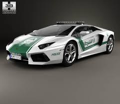 police lamborghini aventador lamborghini aventador police dubai 2013 3d model hum3d