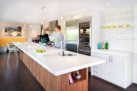 kitchen best wood for countertops with kitchen island made from