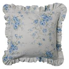 floral print british rose throw pillow slipcover 16