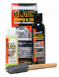 forever black friday forever black restores a dark black finish on sun faded bumpers