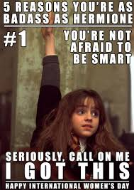 Womens Day Meme - happy international women s day from the the harry potter