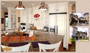 Lakeside Cabinets Cabinets Showplace Vintage Inset Cabinetry Creates A Lakeside