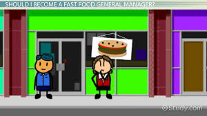 become a fast food general manager salary and career information