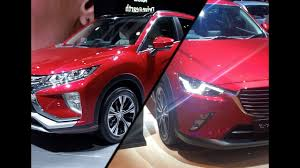 mitsubishi eclipse 2017 2017 mazda cx 3 vs 2017 mitsubishi eclipse cross youtube