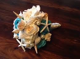 wedding bouquets with seashells how to make a seashell bridal wedding bouquet save money holidappy
