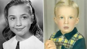 in pictures clinton and trump through the years bbc news