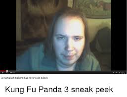 Meme Kung Fu - a martial art that jlink has never seen before kung fu panda 3