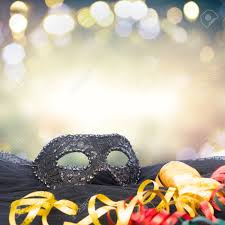mask decorations mask with masquerade decorations border bokeh background