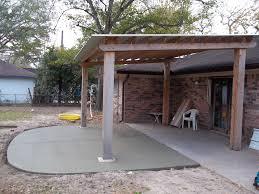 Pergola On Concrete Patio by Pictures Of Decorative Concrete
