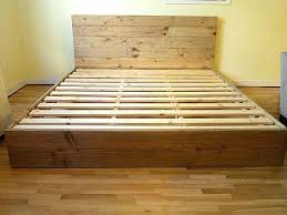 Platform Bed Diy Plans by Create Your Own Bed Frame Smartwedding Co