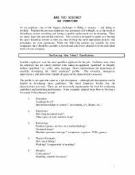 Outstanding Resume Examples Examples Of Resumes 79 Marvelous Sample Job Resume With