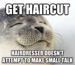 Hairdresser Meme - cardiff hairdressers bauhaus offer quiet chair for people who