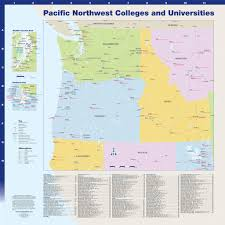 Harbor College Map Pacific Northwest Colleges And Universities Hedberg Group