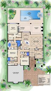 House Plans With Atrium In Center by House Plans With Courtyard In Center