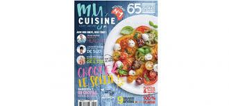 magasine cuisine le magazine my cuisine succède officiellement à zest