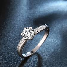 jewelry rings online images White gold plated ring wedding bands engagement ring 925 sterling jpg