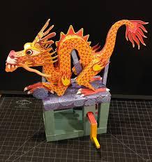 paper dragons paper living papercraft