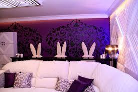 bedroom heavenly purple bedroom decor modern wall black room and