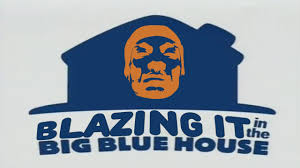 blazing it in the big blue house youtube