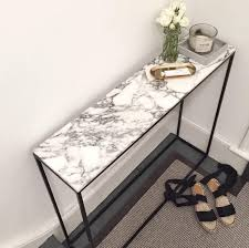 Marble Console Table Marble Console Table Mad About The House