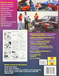 toyota landcruiser repair manual 2005 2007 haynes service and