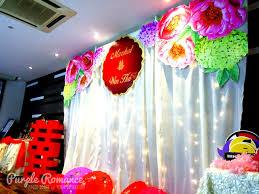 wedding backdrop kl wedding decoration at noble banquet house kl