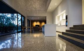 interior concrete floors in home with remarkable flooring