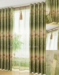 simple burlap two toned country curtains privacy protection style