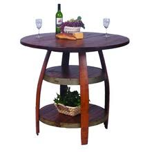 Barrel Bistro Table Wine Barrel Furniture At American Country Home Store American
