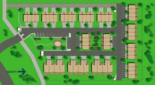 site plan site plan rendering of housing units