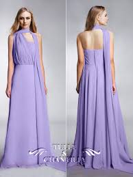 light purple long dress tulle and chantilly multi wear bridesmaid dresses tbqp169 get 4