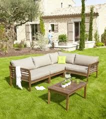 canap teck jardin salon de jardin en teck frais salon d angle d extérieur en bois