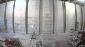 basement wall repair mccoy contractors youtube