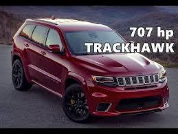 2018 jeep tomahawk 2018 jeep grand cherokee trackhawk 707 hp youtube