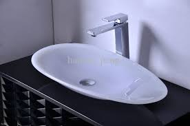 best counter 700mm 400mm 100mm cupc certificate bathroom resin oval counter top