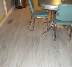 Modern Baseboard Molding Ideas Wooden Allure Vinyl Plank Flooring Matched With Grey Wall Plus